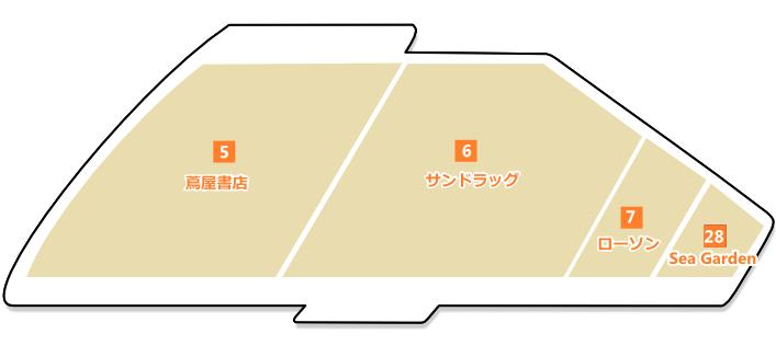 1Fフロアマップ
